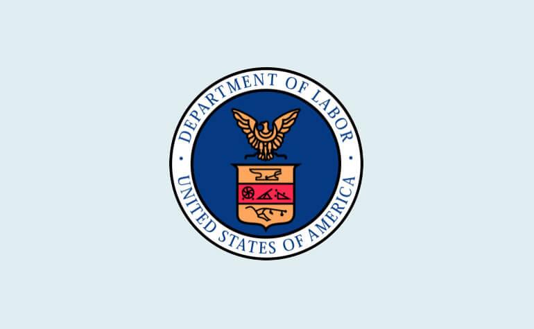 Reunião com Departamento de Trabalho dos EUA