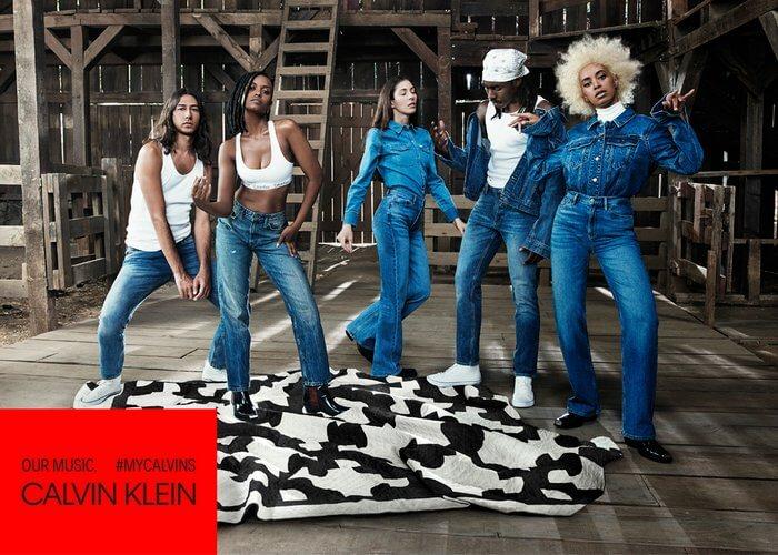 Calvin Klein lança campanha  global das linhas de underwear e jeans